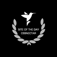CSSNectar: Site of the day
